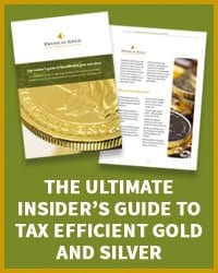 Guide to tax efficient gold and silver