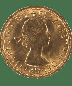 Sovereign Elizabeth II Young Head