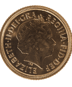 Sovereign Elizabeth II Old Head