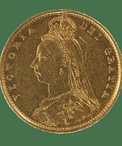 Victoria Jubilee Head Sovereign