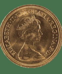 Elizabeth II Decimal Portrait Sovereign