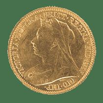 Victoria Half Sovereign