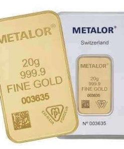 20g gold bar