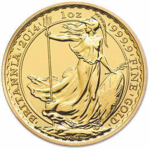 Best Value Gold Britannia
