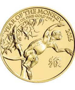 Gold Lunar Monkey