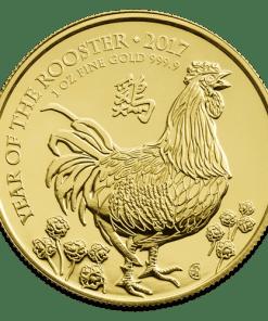 Gold Lunar Rooster