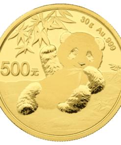 30g Gold Chinese Panda