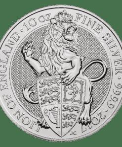 10oz Silver Lion