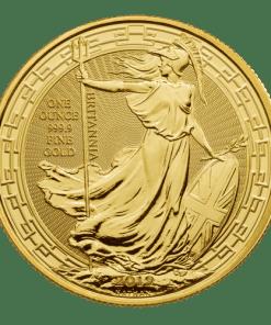 Gold Britannia oriental border
