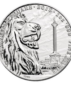 Silver Trafalgar landmark coin