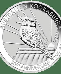 1 kilo Silver Kookaburra