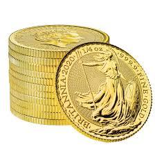 2020 Quarter Ounce Britannia Gold Coins
