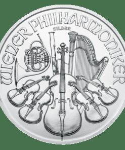 2020 Silver Philharmonic coin