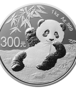 China Panda Silver Proof 1 Kilo Coin