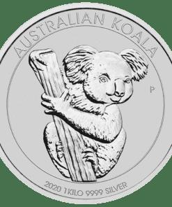 2020 1kilo silver koala