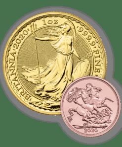 2020 Gold Britannia & Sovereign bundle