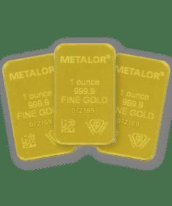 1oz Gold 3 Bar Bundle