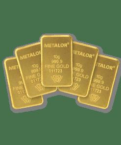 10g gold 5 bar Bundle