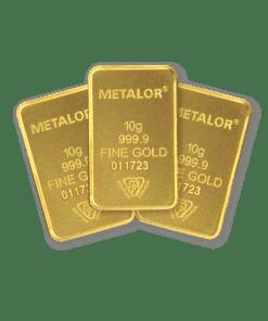 10g gold 3 bar Bundle