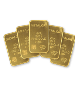 20g gold 5 bar bundle