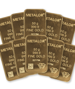 50g Gold 10 Bar bundle