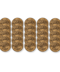 Pre-owned Half Sovereign 25 coin bundle