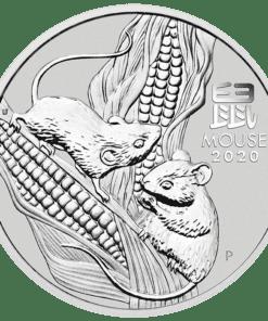 Lunar III Mouse 1 kilo Silver Coin