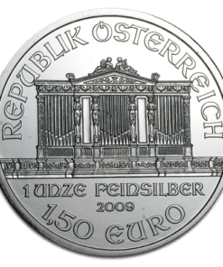 Mixed year Silver Philharmonic coin