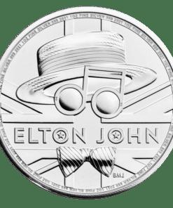 Elton John silver coin