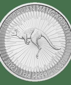 2021 Silver kangaroo