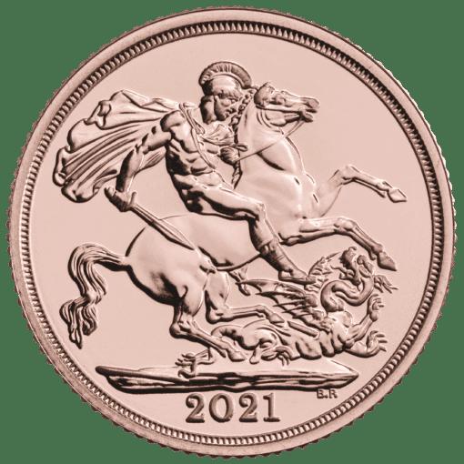 2021 Gold Sovereign