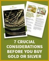 Considerations before you buy gold and silver