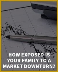 How exposed is your family to a market downturn